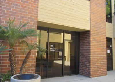学校の入り口