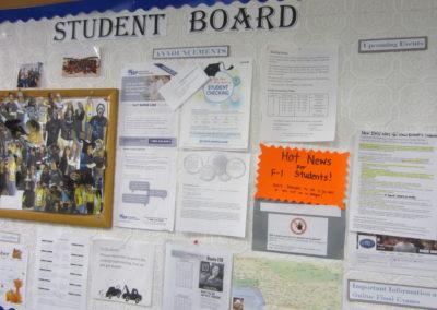 生徒さんの情報交換掲示板