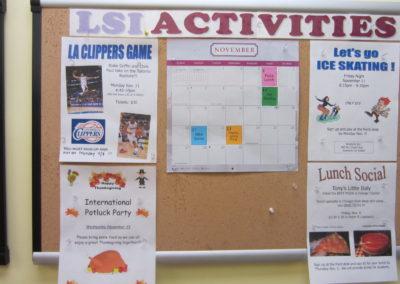 アクティビティカレンダー