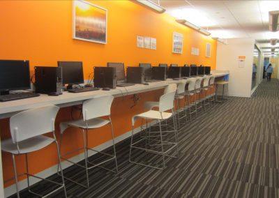 廊下にある生徒さん用のパソコン
