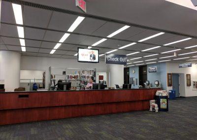 図書館受付