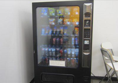 ラウンジにある自動販売機